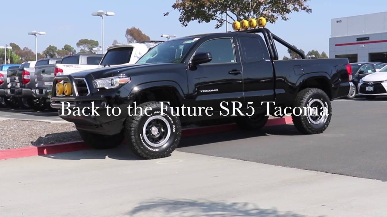 back to the future toyota tacoma youtube. Black Bedroom Furniture Sets. Home Design Ideas