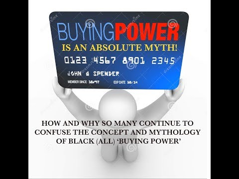 The Myth of Black Buying Power