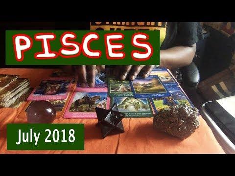 PISCES JULY 2018 Horoscope Psychic Tarot Reading