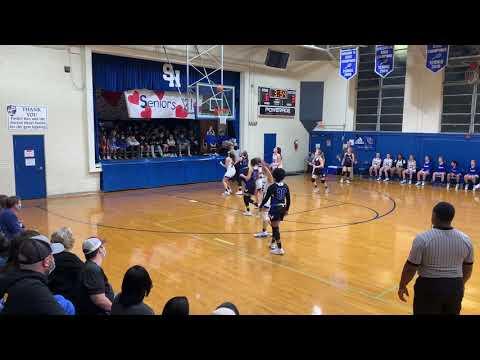 Sacred Heart Girls Basketball vs Sylva Bay Academy 2/4/21