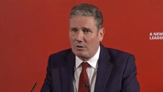 Keir Starmer supports Corbyn suspension after 'disappointing' response from former Labour leader