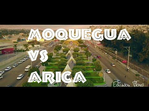 ✓Moquegua, Perú vs Arica Chile | Ciudades de sudamericana