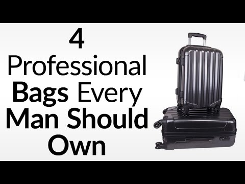 Luggage For The International Business Traveler | 4 Essential Bags For Businessmen