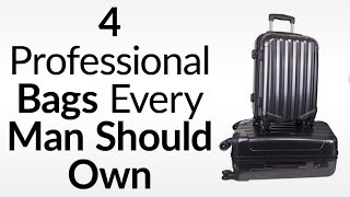luggage for the international business traveler 4 essential bags for businessmen
