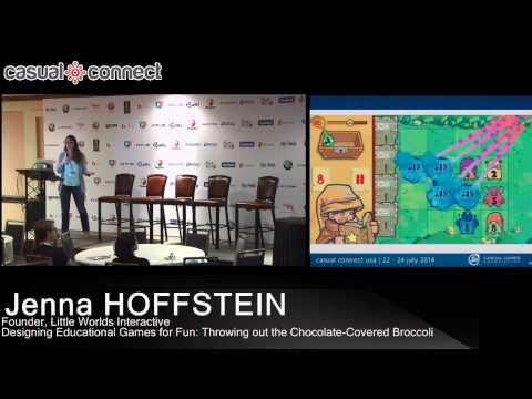 Designing Educational Games for Fun: Throwing out the Chocolate-Covered Broccoli | Jenna HOFFSTEIN