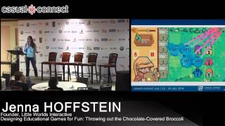 Designing Educational Games For Fun: Throwing Out The Chocolate Covered Broccoli   Jenna Hoffstein