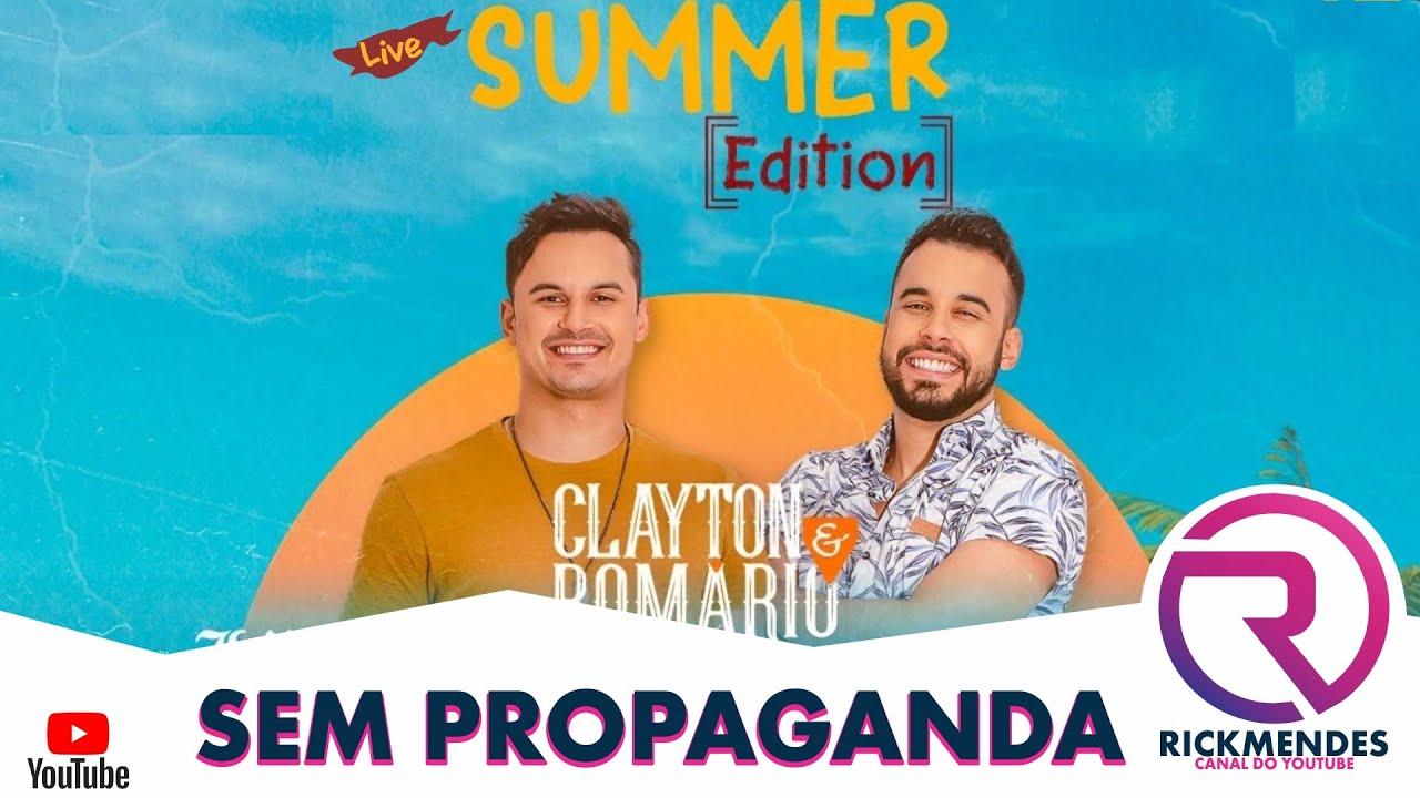 Download LIVE CLAYTON & ROMÁRIO SUMMER EDITION ‹ SEM PROPAGANDA ›