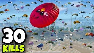 EVERYONE LANDED IN POCHINKI!!! | 30 KILLS SOLO VS SQUADS | PUBG MOBILE
