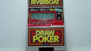 Riverboat Draw Poker & Coin Bank By Radica