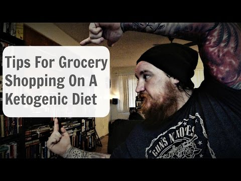 Tips For Grocery Shopping On A Ketogenic Diet