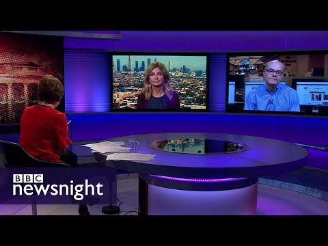 Is Trump in 'deep trouble' over payment to Stormy Daniels? - BBC Newsnight