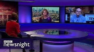 """Is Trump in """"deep trouble"""" over payment to Stormy Daniels? - BBC Newsnight"""