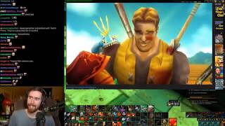 Asmongold Reacts to Captain Grim Machinima's to Hype Up The Release of WoW Classic