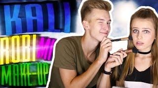 KALUCH ROBI MI MAKIJAŻ! | My Boyfriend Does My Makeup! | VictoriaBarbae
