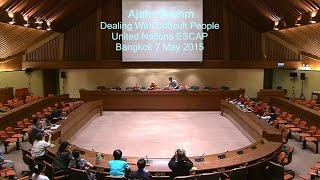 Ajahn Brahm. Dealing with difficult people. UN ESCAP. 1 of 2
