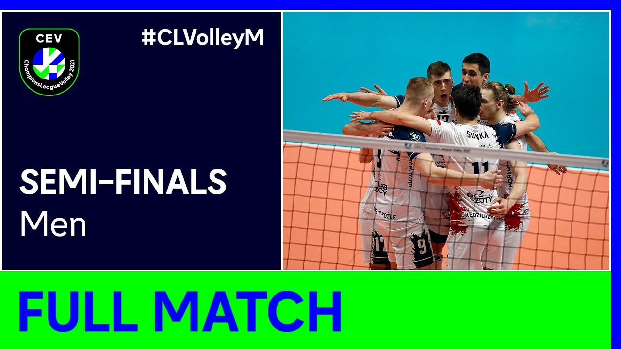 Grupa Azoty KĘDZIERZYN KOŹLE vs. Zenit KAZAN - CEV Champions League Volley 2021 Men Semi-Finals