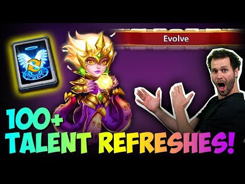 JT's F2P 100 Talent Refreshes Cirrina Devo Discount Store Castle Clash
