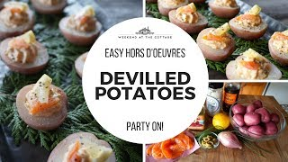 DEVILLED POTATOES - EASY HORS D