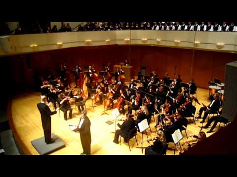 Five Mystical Songs Ralph Vaughan Williams  MSU Spring Choral & Orchestral Concert 2013