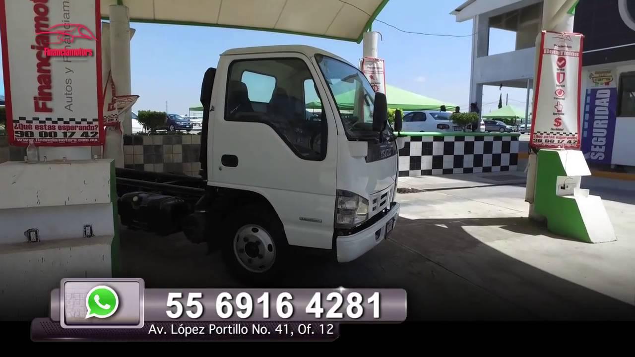 Camion Isuzu Chasis Cabina Corto - YouTube