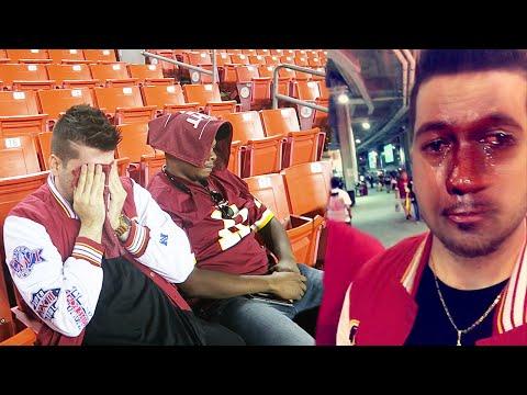 THE SALTIEST REDSKINS FAN!!!! Monday Night Football vs Steelers
