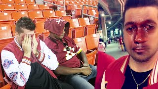THE SALTIEST REDSKINS FAN!!!! Monday Night Football vs Steelers