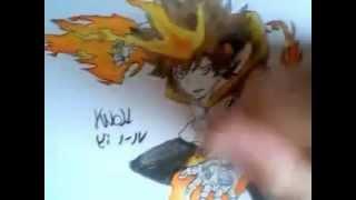 Dibujando a Tsuna Sawada (Katekyo Hitman Reborn!) / Drawing Tsuna Sawada (Katekyo Hitman Reborn!)