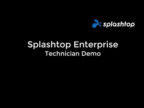 Splashtop Enterprise 管理员/技术员演示视频