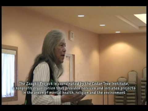 "2012 Zaagkii Project: ""Be tenders of the garden"" - Hannahville Potawatomi Elder Earl Meshigaud"