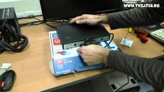 Как подключить ресивер триколор GS U210, B210, B211  на два телевизора.(, 2014-11-24T15:57:16.000Z)