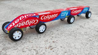 How To Make Colgate Train At Home Diy Toy