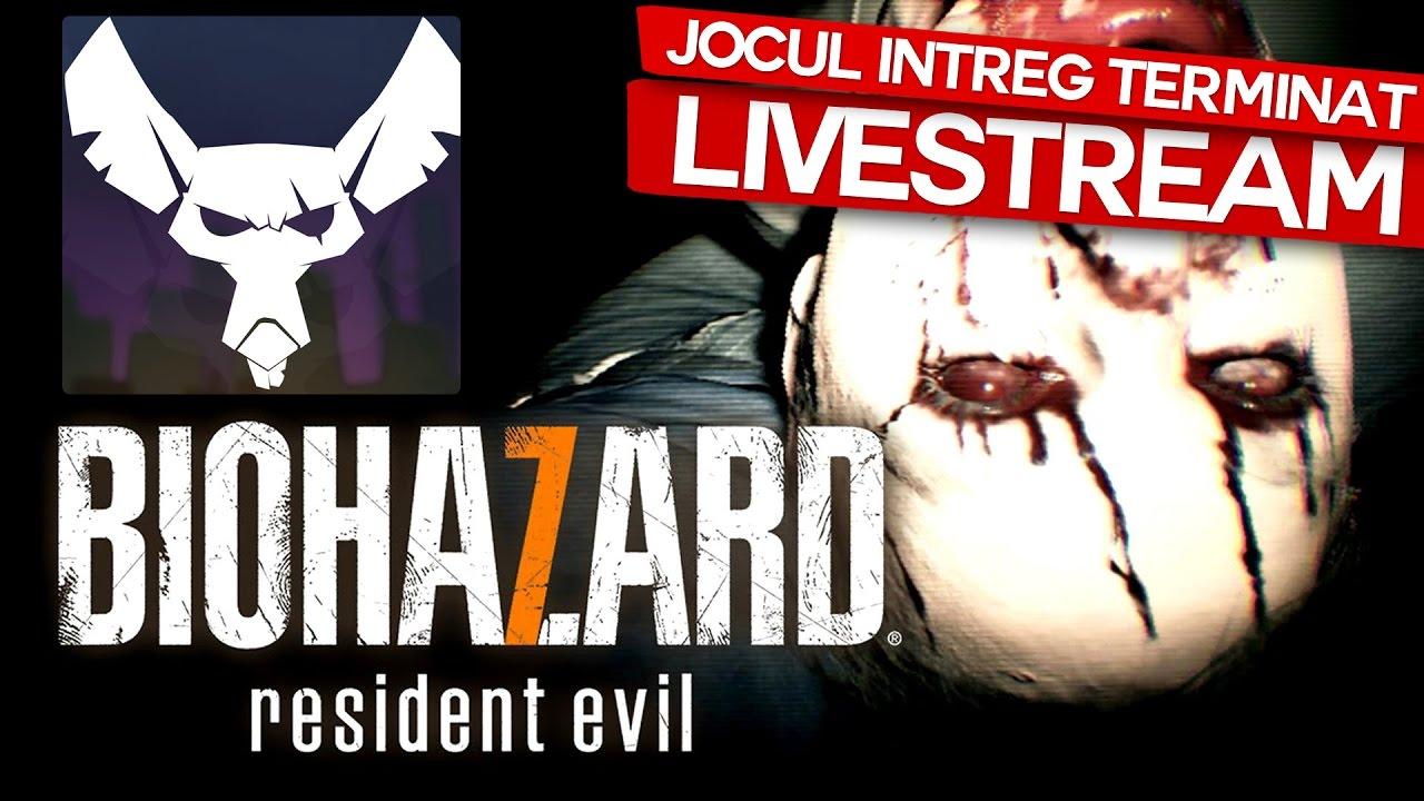 Resident Evil 7! TOT JOCUL! FULL Playthrough! + FINALUL (MAXINFINITE LIVESTREAM!)