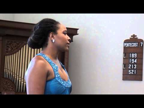 Deep River performed by Soprano, Meroe Khalia Adeeb