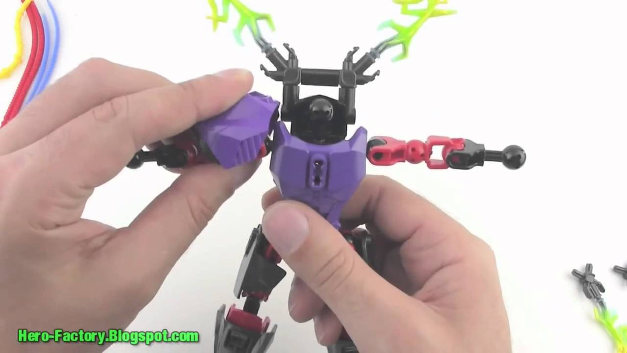 Lego Hero Factory 2012 Video Review 6283 Voltix By Legojang
