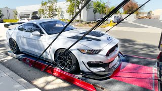 TAKING DELIVERY OF A $225,000 FORD MUSTANG GT4!
