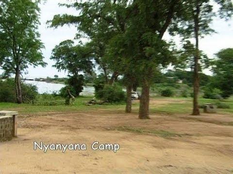 Nyanyana Camping site, Kariba Zimbabwe. Travel guide.