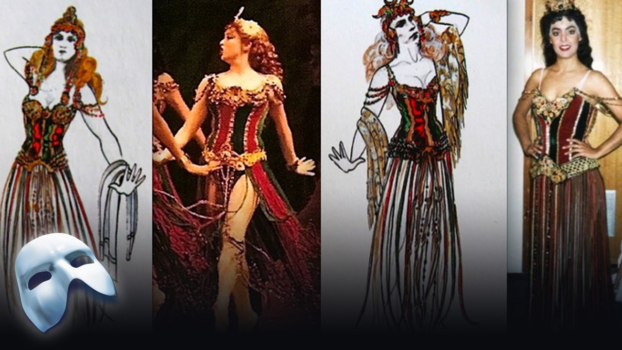 Maria Björnson S Costume Designs Behind The Scenes The Phantom Of The Opera Youtube