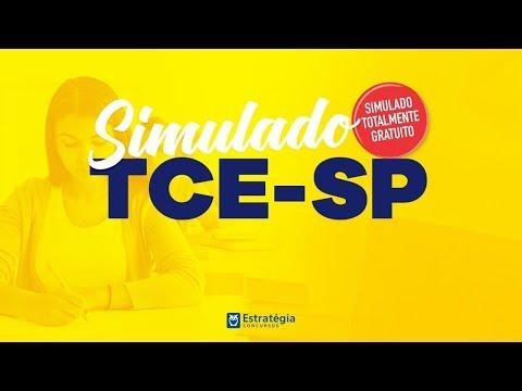 Concurso TCE-SP - Simulado Gratuito | Ao vivo