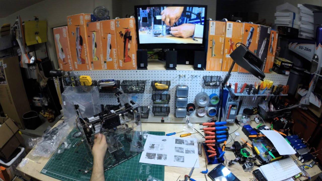 HobbyKing Turnigy Fabrikator 3D Printer Time Lapse Build ...