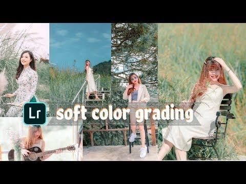 Soft  Color Grading Effect  Free Presets & DNG Lightroom Tutorial