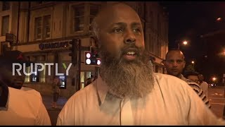 UK: Eyewitness recalls van attack outside London mosque
