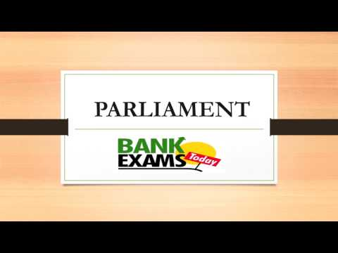 Parliament of India lecture in Hindi for SSC