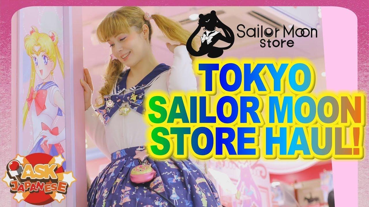 Official SAILOR MOON Store Trip To The USA Anime Matsuri 2018 Goods List