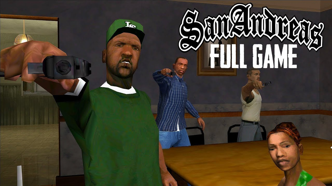 GTA: San Andreas - FULL GAME - No Commentary