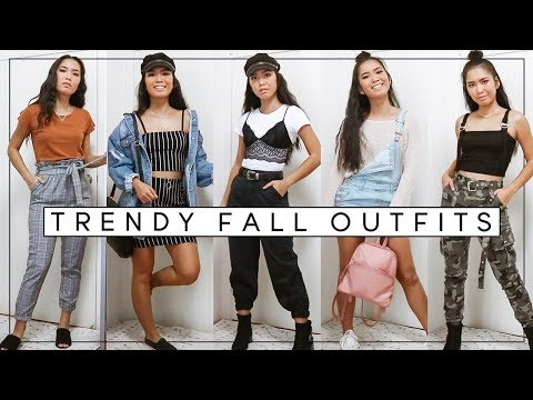 TRENDY FALL OUTFITS FOR WARMER WEATHER | Fall Aesthetic Lookbook