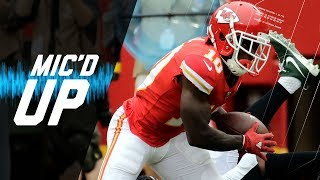 Kansas City Chiefs receiver, Tyreek Hill, is mic'd up for the Chief...