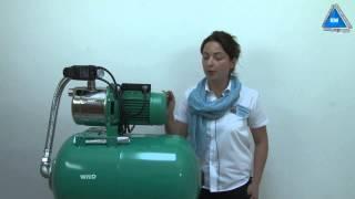 видео Насосная станция Wilo HWJ 50 L 203 ЕМ