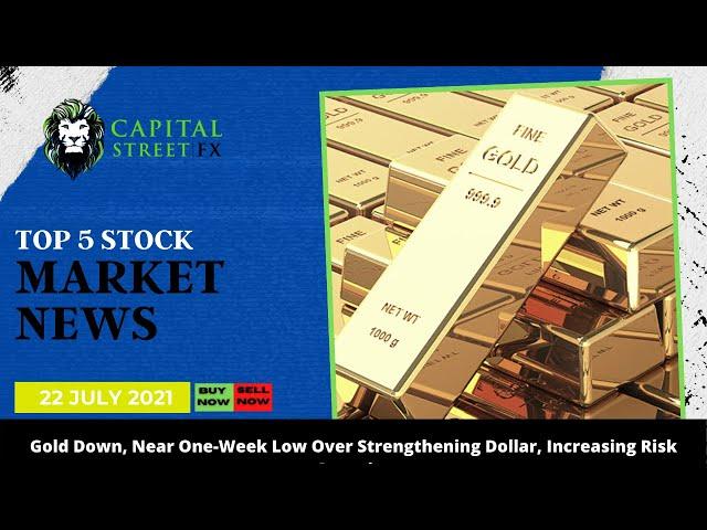 Top 5 Stock Market Update & Financial Market News By Capital Street Fx - 22 July, 2021