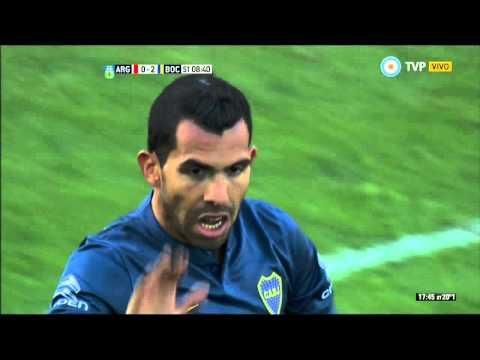 Argentinos Juniors 1 - 3 Boca Juniors -  Fecha 25 Torneo Argentino 2015
