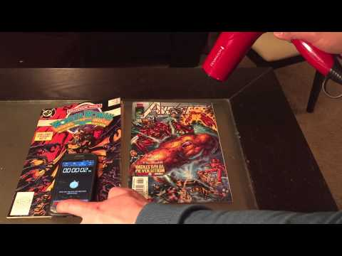 How To Remove Price Stickers From Comic Books
